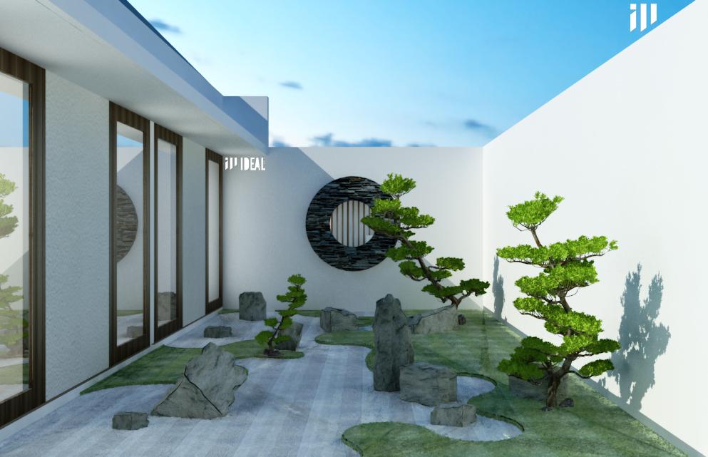 Taman Ala Jepang Dimas Erlangga Arsitek